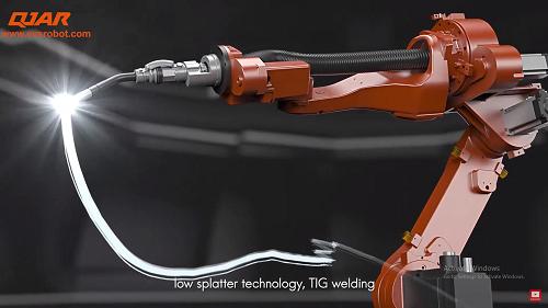 EVS robot arm video