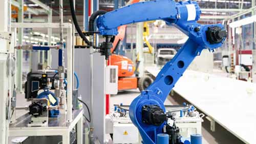 An image of how industrial automation works