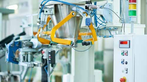 automation technology used in a food factory