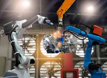 Robots in the Metal Industry