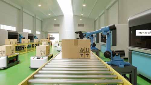 industrial robots used in supply management