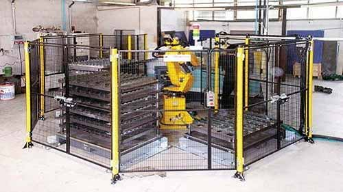 A Robot Fence/Guard to Provide Protection
