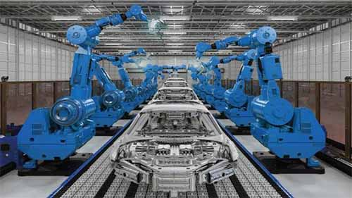 A Robot with an Automation Control System