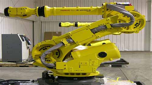 An Automated Robot in a Factory