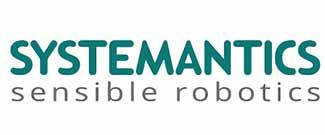 Systemantics Robotics India; Company Logo Text