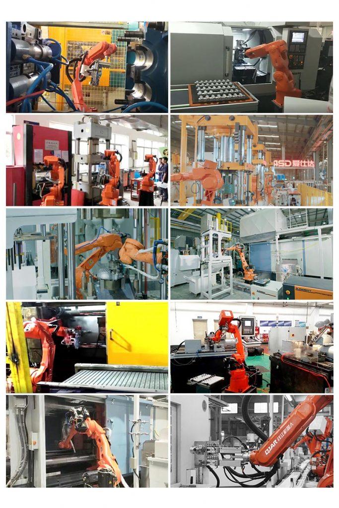 robot machine tending cases