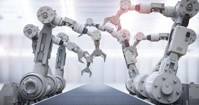 Robotics used in manufacturing processes