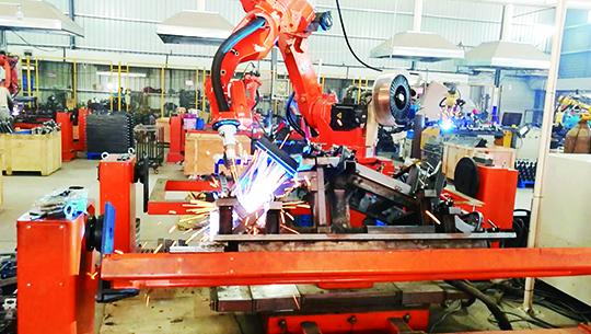 fitness equipment welding