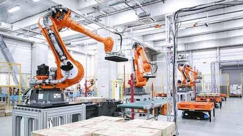 A Robot Assembly Plant