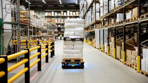 Robotic vision systems enhance warehouse robots