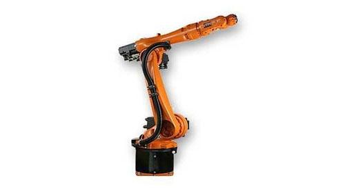 Robot arm at rest