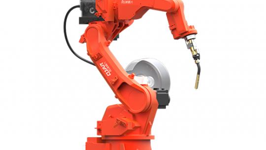 4kg Payload 1410.5mm Reaching Distance Welding Robot QJRH4-1A