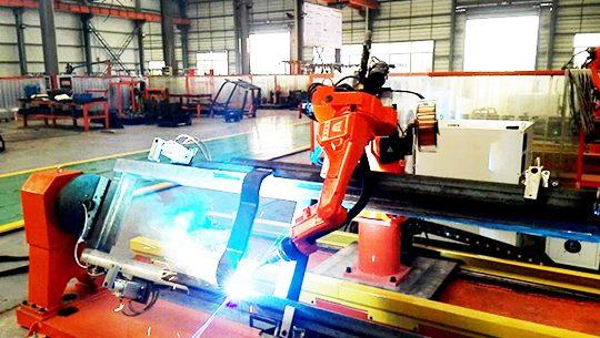 Forklift Shell Welding