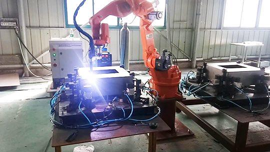 air filter welding